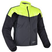 Oxford Rainseal Pro Waterproof Jacket Grey/Black/Fluo